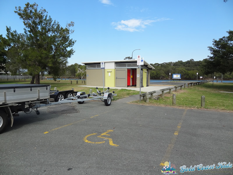 Photo of Disabled and Boat Trailer Parking at Charles Holm Park