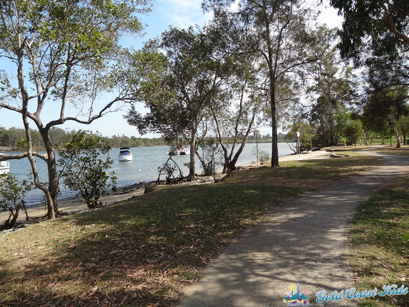 Swimming Area at Charles Holm Park