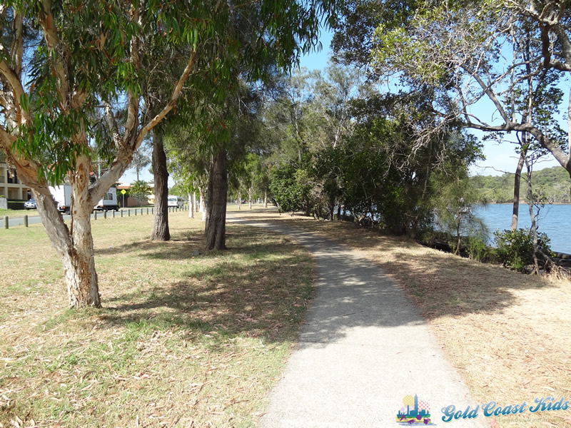 Photo of Walkway to Swimming Beach at Charles Holm Park