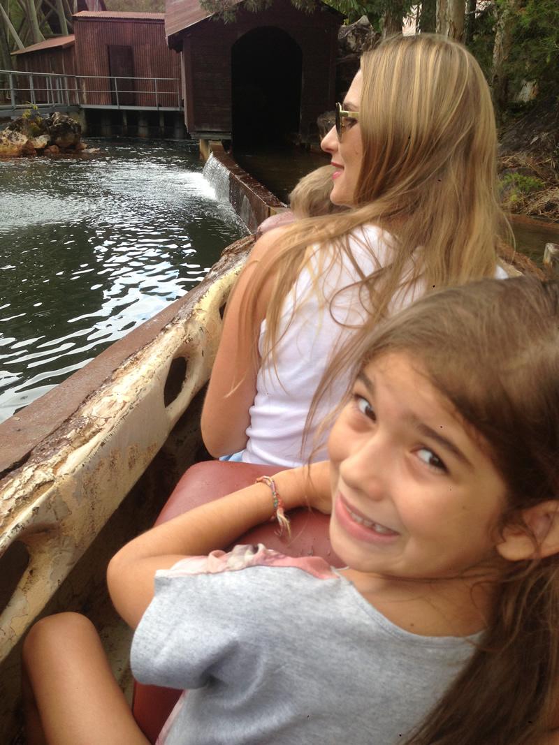 Gold Rush Log Ride