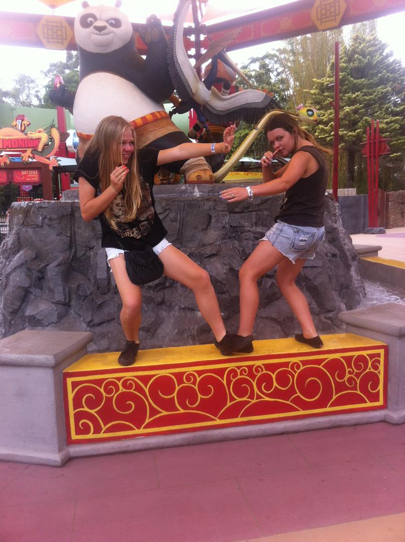 Fun with Kung Fu Panda